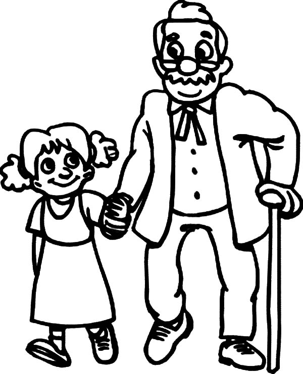 coloring pages children helping - photo#40