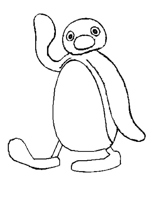 pingu coloring pages - photo#5