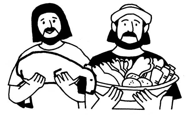 Abel And Cain Story Of Jealous And Anger Coloring Page