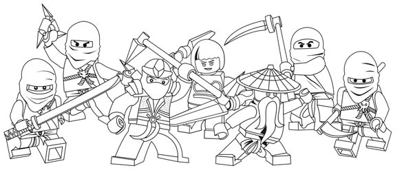 all ninjago characters lego coloring page coloring sky. Black Bedroom Furniture Sets. Home Design Ideas