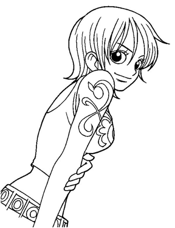 Anime One Piece Coloring Page