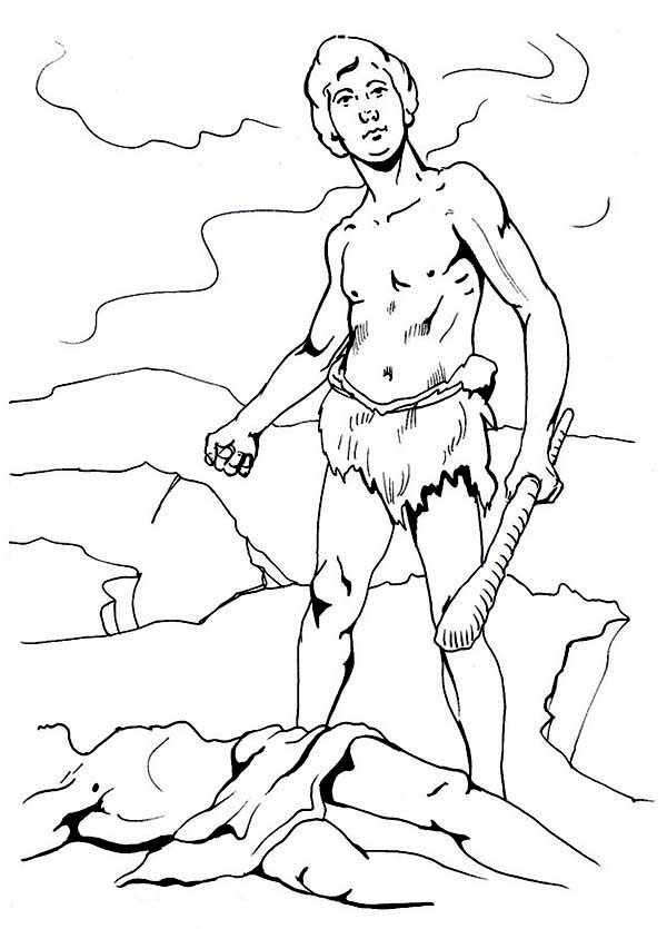 cain abel coloring pages - photo#15