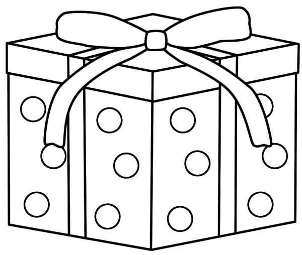 Christmas Gifts Coloring Page : Coloring Sky