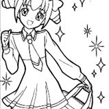 Chibi Fox Girl Anime Coloring Page Coloring Sky
