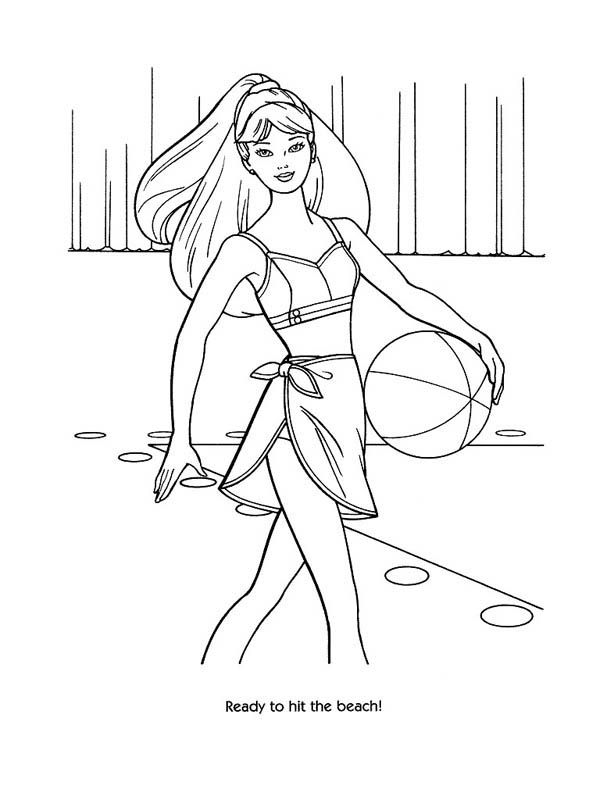 modeling coloring pages - photo#26