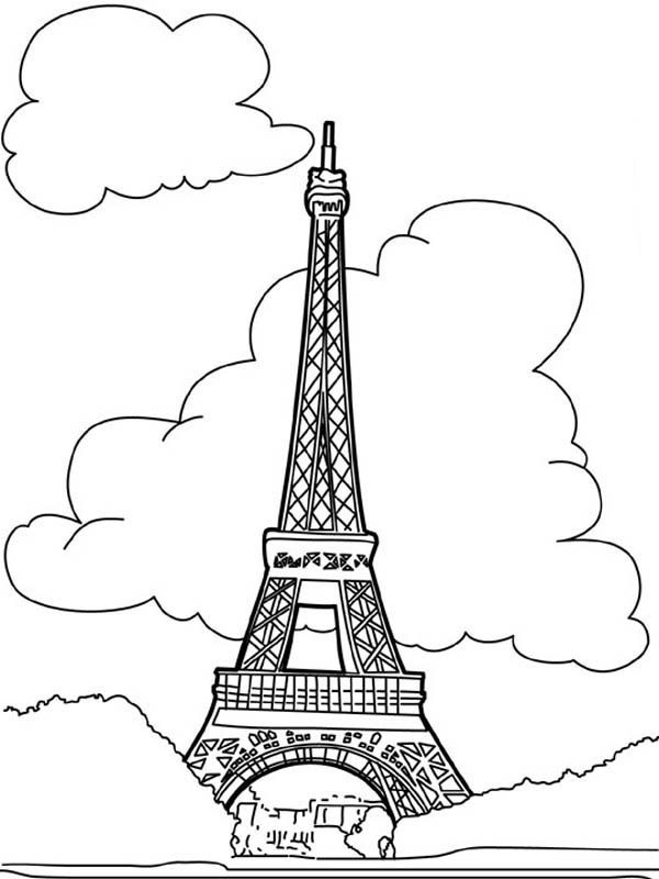 French People Proud Coloring Page Coloring Sky