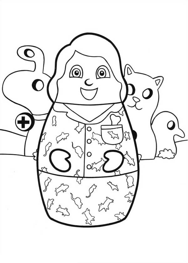 Higglytown Heroes Animal Control Officer Coloring Page