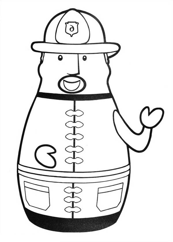 firefighter heroes coloring pages - photo#2