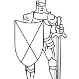 Knight Coloring Page - Free knights Coloring Pages ... | 159x159