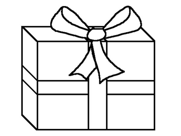 Picture Of Gifts Coloring Page : Coloring Sky
