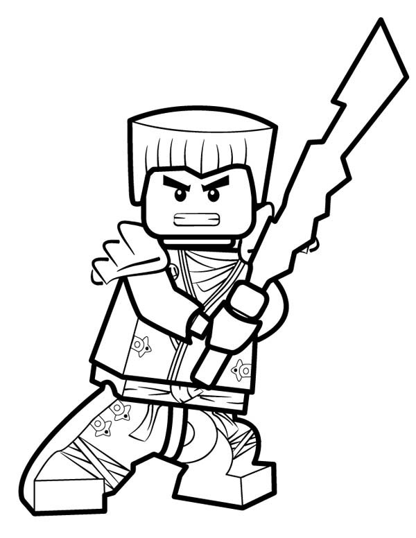 picture of ninjago coloring page for kids  coloring sky