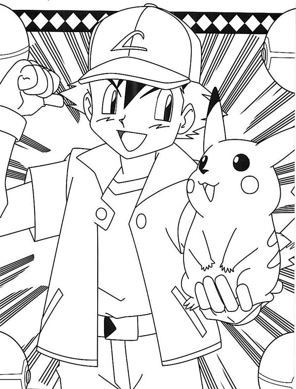 The Adventure Of Ash Ketchum And Pikachu On Pokemon ...