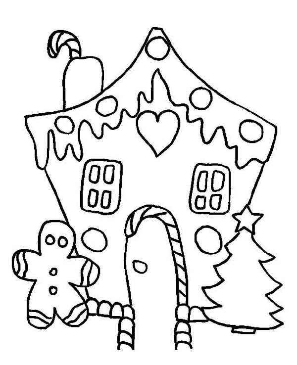 Christmas, : Delicious Christmas Cookies on Christmas Coloring Page