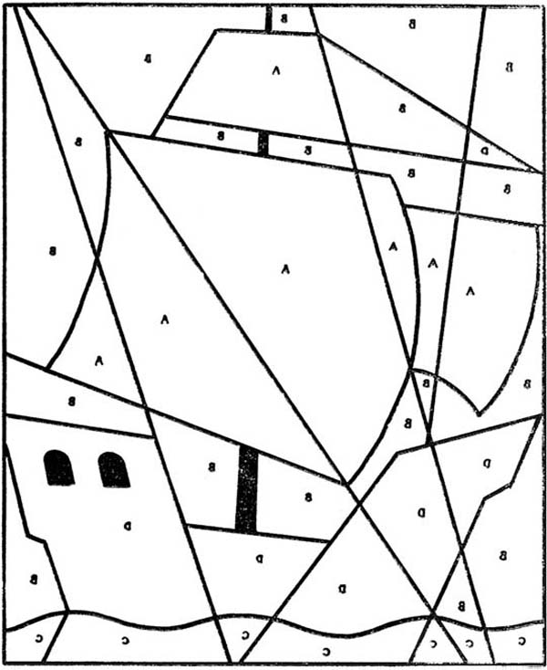 Puzzles, : Disorganized Puzzles Coloring Page