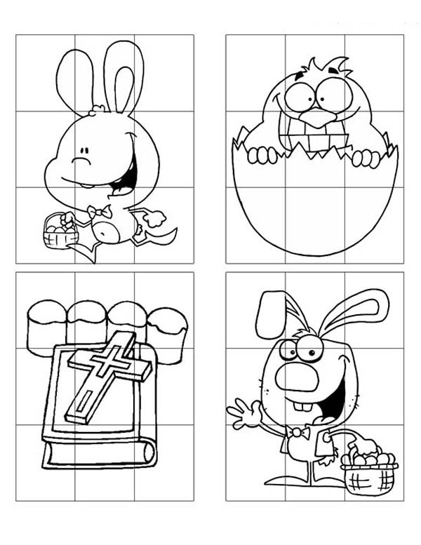 easter themed coloring pages - photo#18