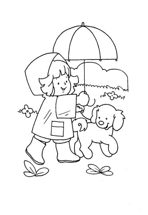 People, : Little People Playing at Park Coloring Page
