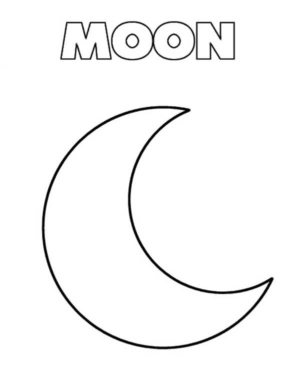 printable june moon coloring pages - photo#32