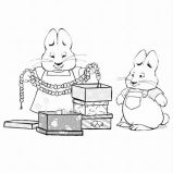 Free Printable Max and Ruby Coloring Pages For Kids (With images ...   159x159