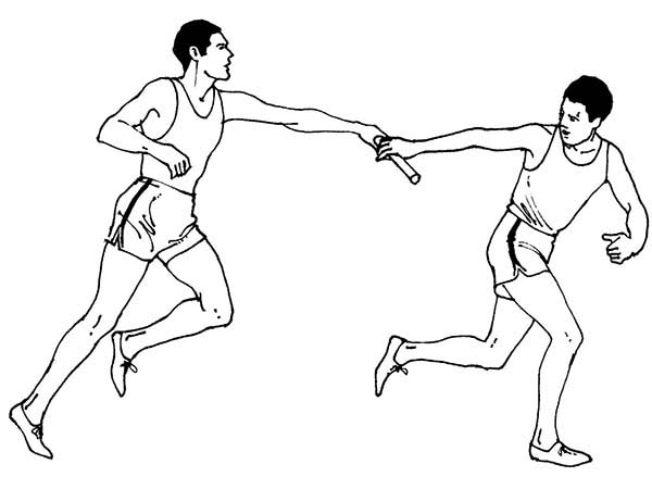 Olympic Games, : Olympic Games Coloring Page