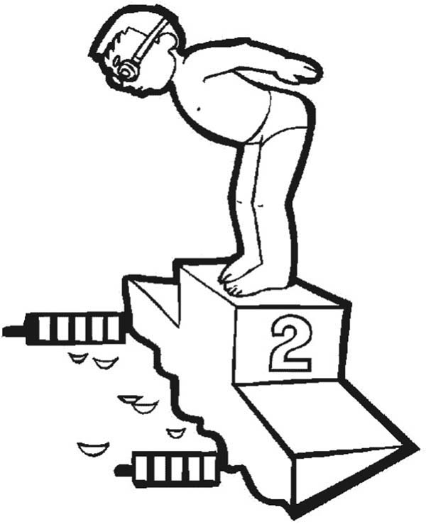 dltk coloring pages olympics swimmers - photo#27
