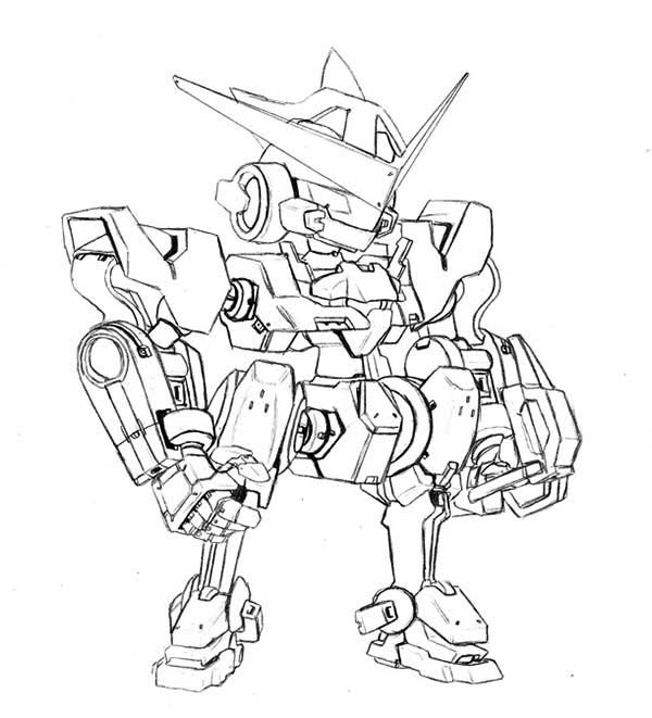 Medabots, : Picture of Medabots Coloring Page