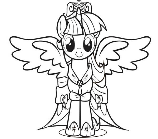 picture of my little pony coloring page  coloring sky