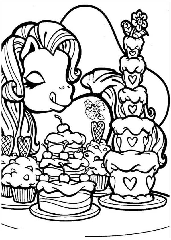 Pinkie Pie Eat A Lot Of Ice Cream In My Little Pony ...