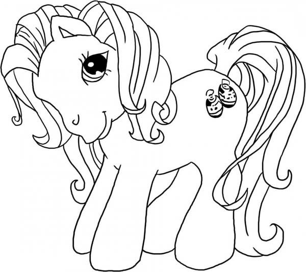 Young Pinkie Pie Coloring Pages Pinkie Pie Is Very Cha...