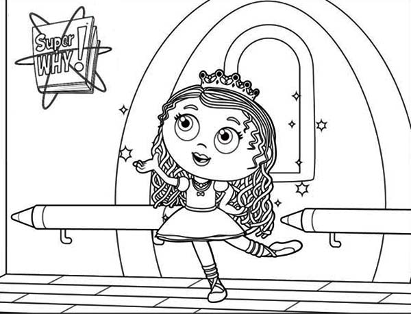 Princess Pea Coloring Pages Coloring Page