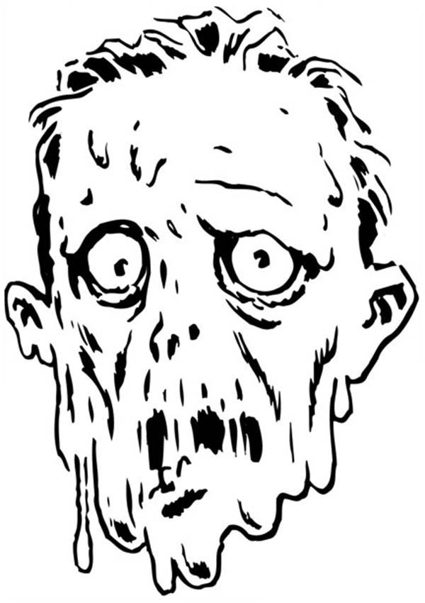 scary mud monster coloring page   coloring sky
