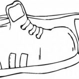 Pair Of Shoes Coloring Page Coloring Sky