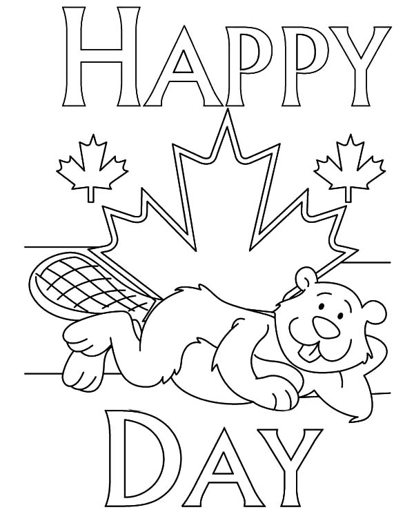 Canada Day Event, : Merry Canada Day Event Coloring Pages