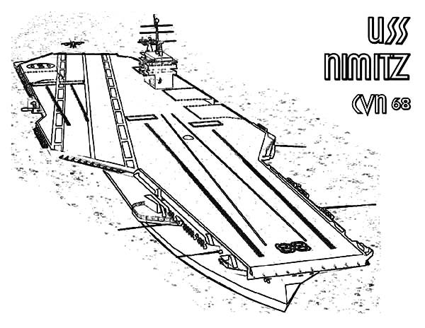 free coloring pages aircraft carrier - photo#5