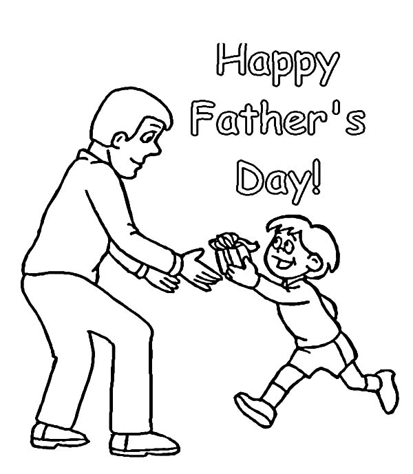 I Love Dad, : Drawing Father Day I Love Dad Coloring Pages