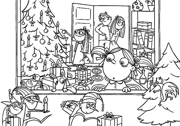 Holidays, : Holidays I Meet Little Fairy Coloring Pages