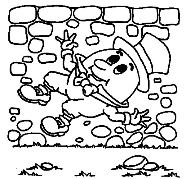 Humpty Dumpty, : Humpty Dumpty Had a Great Fall Coloring Pages