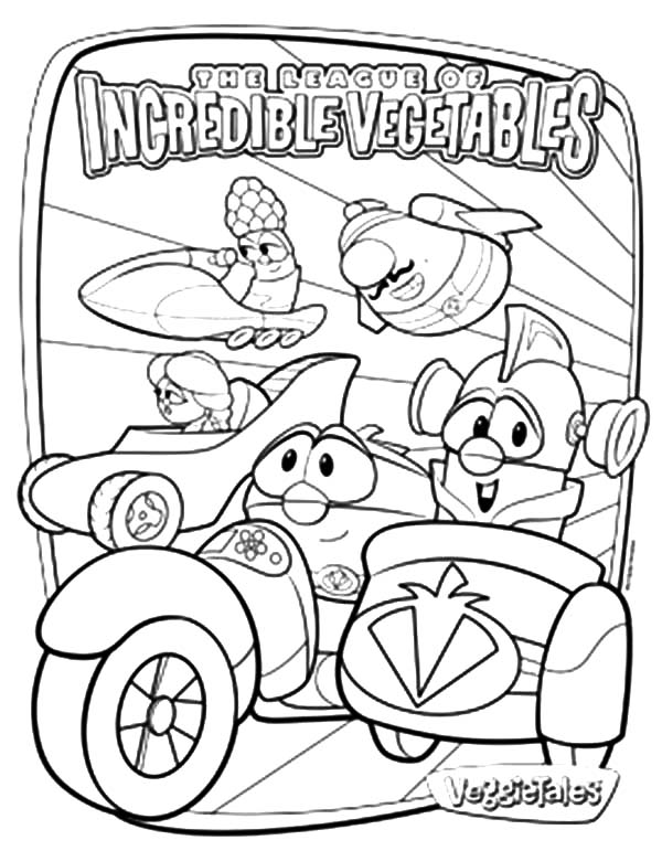 larryboy coloring pages - photo#15